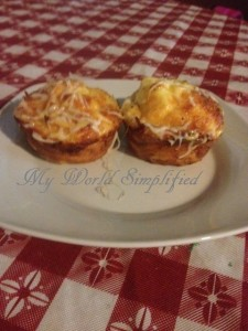 Scrambled Muffins