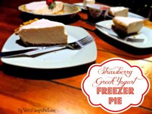 Strawberry Freezer Pie