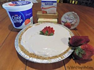 Strawberry Greek Yogurt Freezer Pi