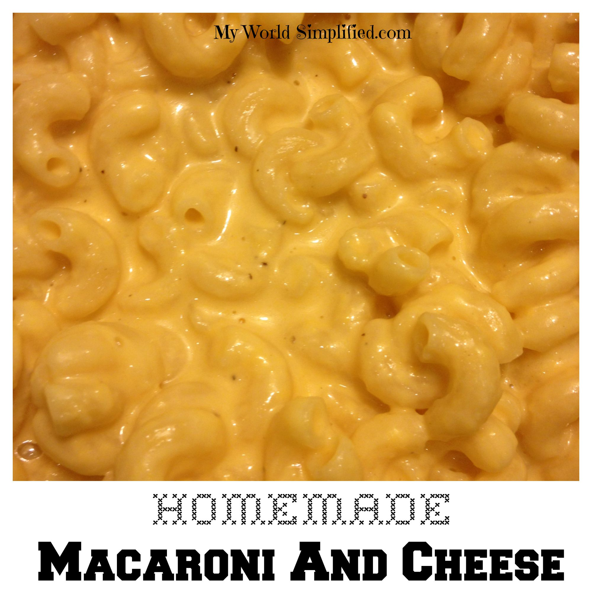 Homemade Baked Macaroni And Cheese Recipe — Dishmaps